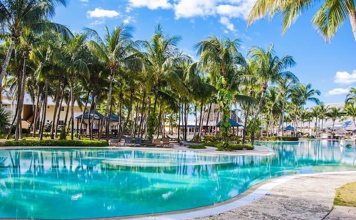 Hôtel de luxe avec piscine