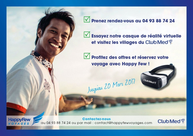 HAPPY FEW flyer club med 360 17 D3