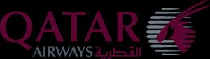 Logo compagnie aérienne Qatar Airways