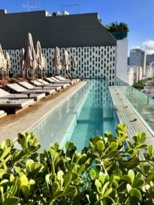 Piscine de l'hôtel Emiliano à Rio de Janeiro au Brésil