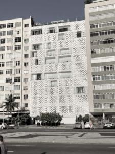 Façade Hôtel 5 étoiles Emiliano à Rio de Janeiro au Brésil
