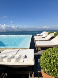 Piscine de l'hôtel Fasano à Rio de Janeiro au Brésil
