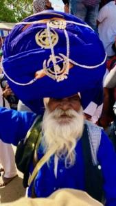 Photo d'un Sikh en Inde