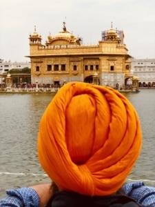 Vue sur le Temple d'Or en Inde